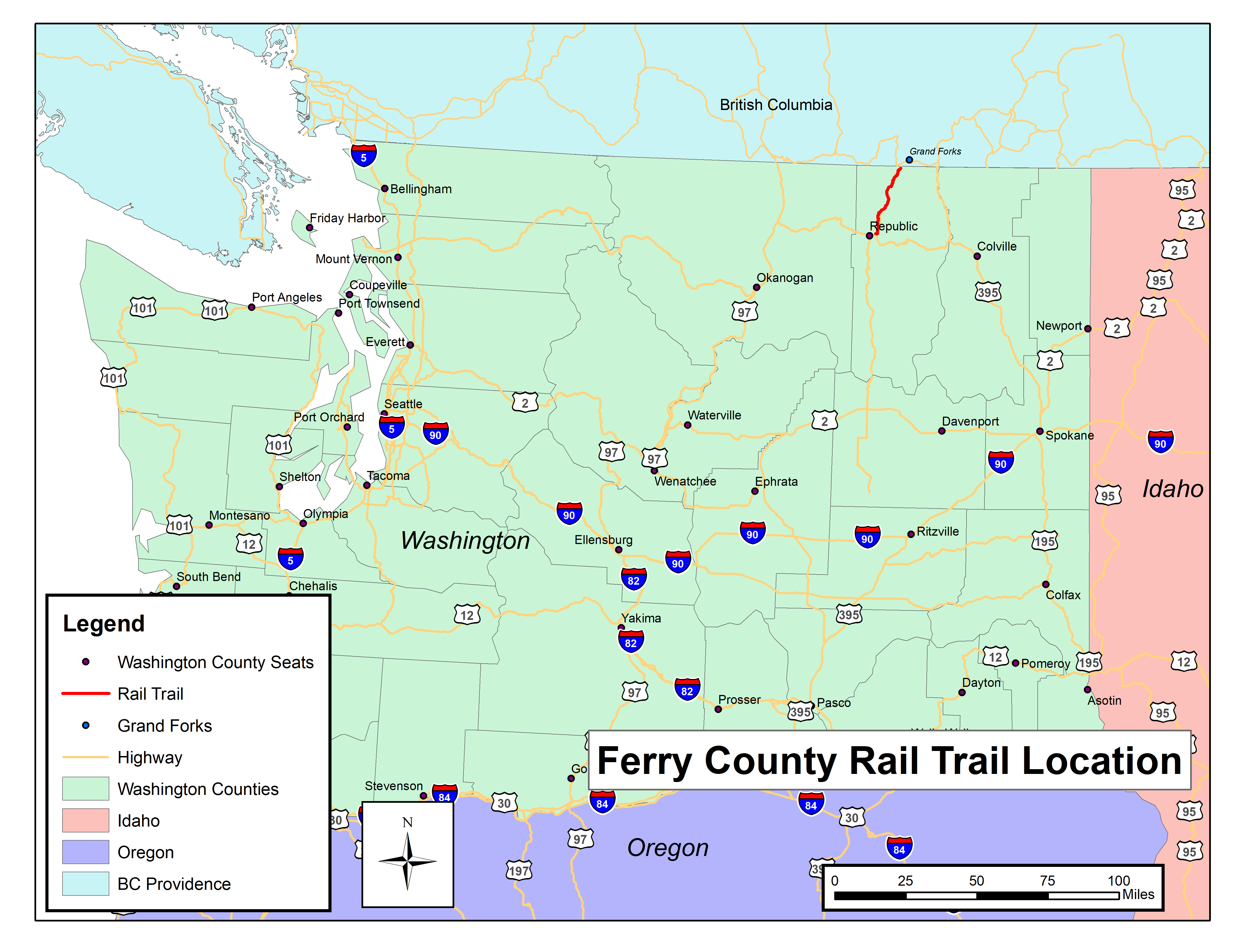 Picture of: Ferry County Rail Trail Ferry County Rail Trail Partners
